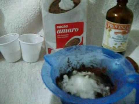 TUTORIAL anticellulite 2: SCRUB Fai da te al Cacao Rassodante Naturale - YouTube Carlitadolce