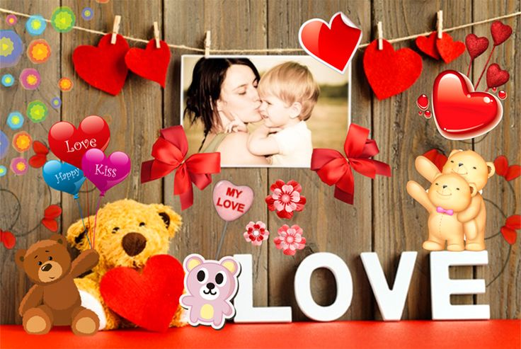 Create amazing Love collages!