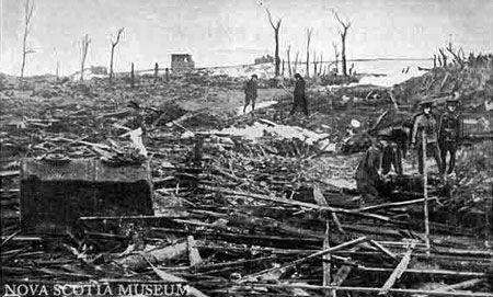 Like a Battlefield; Halifax explosion 1917