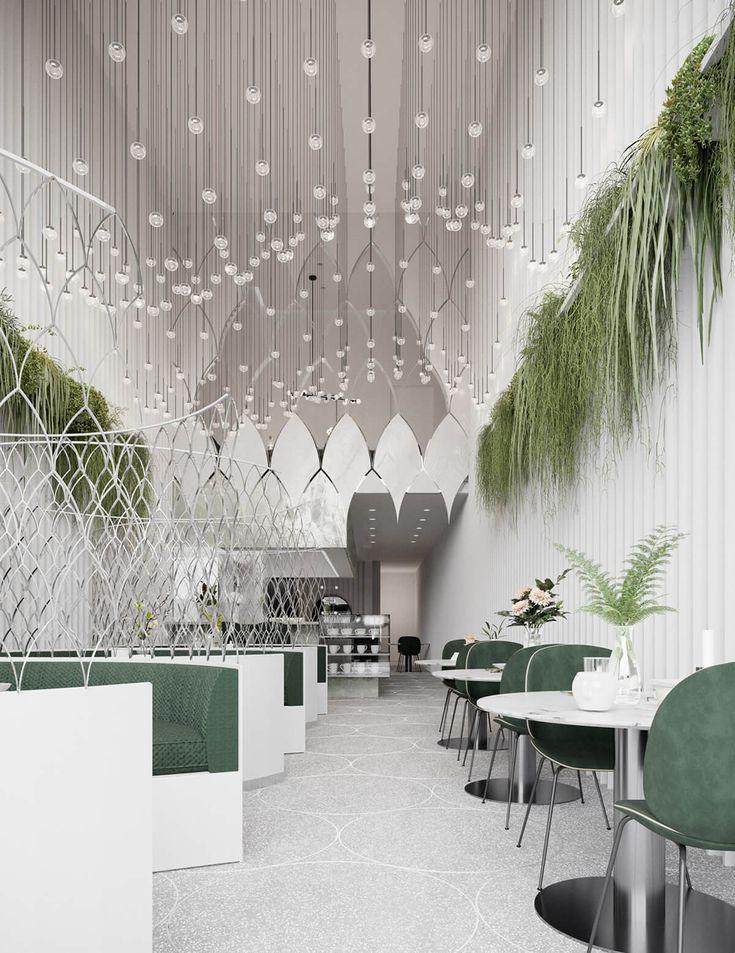 Cisne Lounge Café Design
