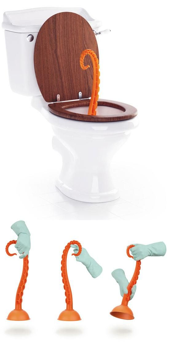 Octopus Plunger: Fun Products You Never Knew You Needed (8)