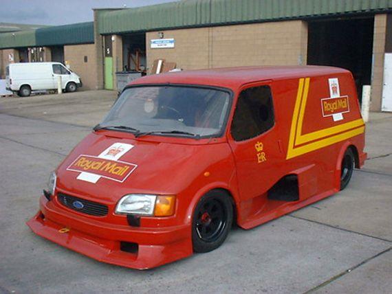 Ford Transit Supervan 3 Royal Mail