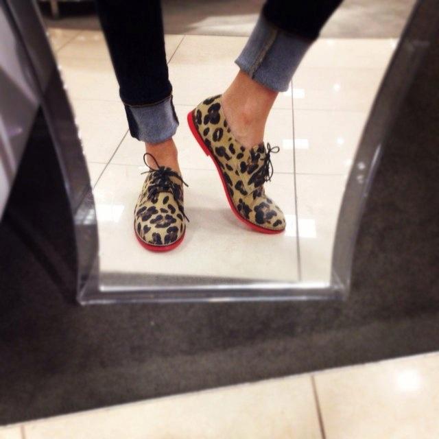 Steve Madden leopard shoes