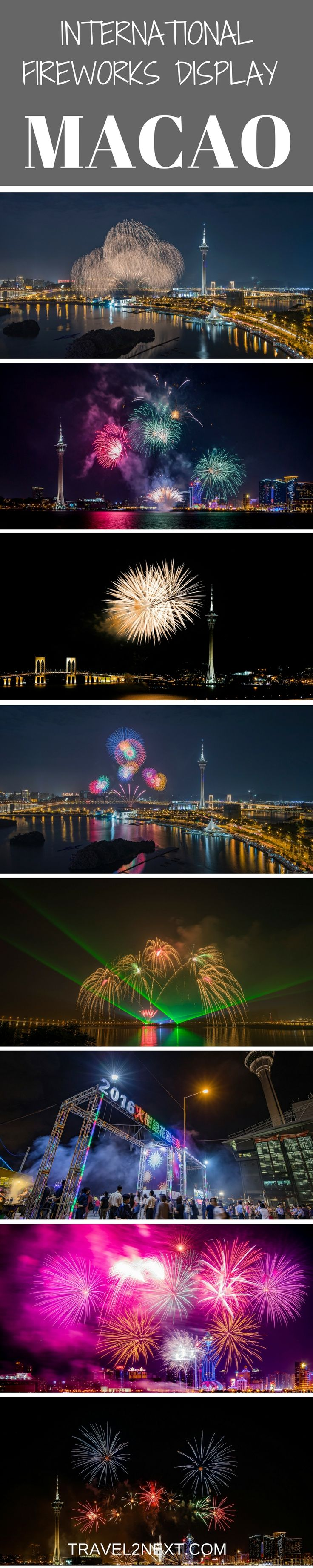 Macao International Fireworks Display Contest. One of the best times of the year to visit Macao is during the Macao International Fireworks Display Contest.