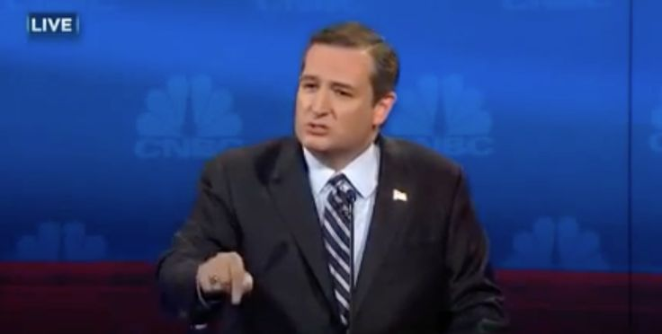 Ted Cruz Unexpectedly Goes Off on CNBC Debate Moderator Over Phrasing of Question: 'I'm Not Finished Yet'
