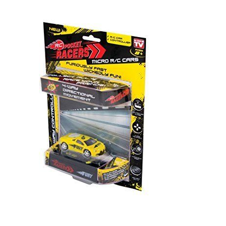 Pocket Racers Micro Rc - Available in Red, Blue, Yellow and Black