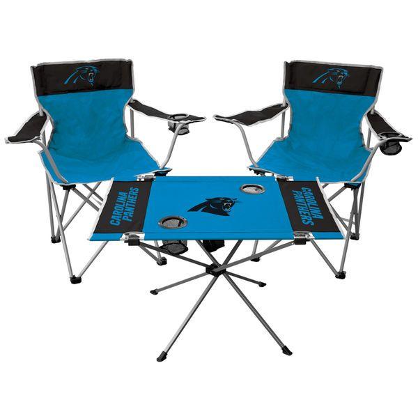 Carolina Panthers Tailgate Chair & Table Set - $79.99