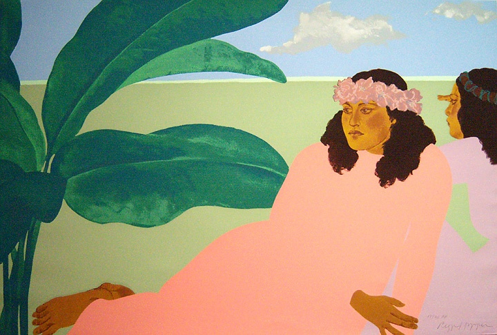 PEGGE HOPPER Signed Original Color Serigraph