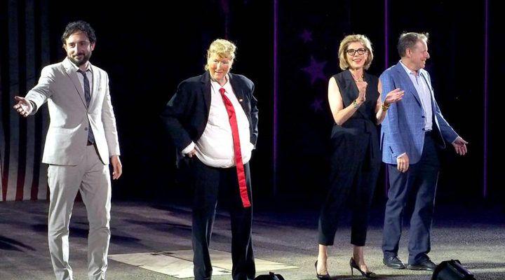 Meryl Streep parodia a Donald Trump y le pide que estudie a Shakespeare