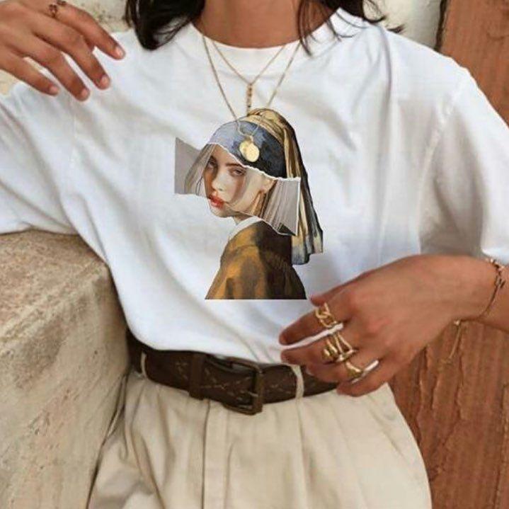 Instagram Da Twist Shout T Shirt Modeli Bio Kismindaki Linkte Mevcuttur Billie Olarak Aratabilirsiniz Aesthetic T Shirts Fashion Prints Aesthetic Shirts