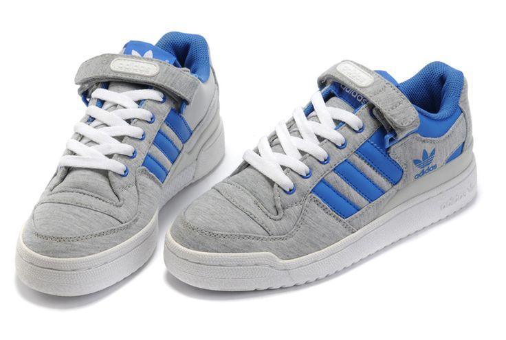 Adidas Forum Lo RS Grey Blue Grun Pack Grey
