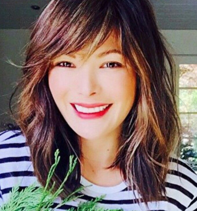 Stunning Lindsay Price's new haircut... Her style is always on point! (Sourced from her instagram post @lindsayjprice )