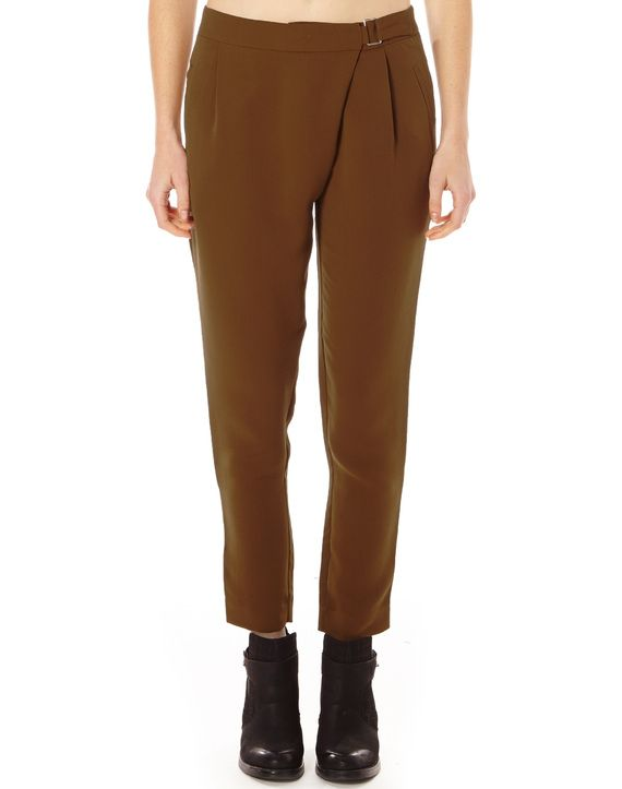 Wrap Front Trousers