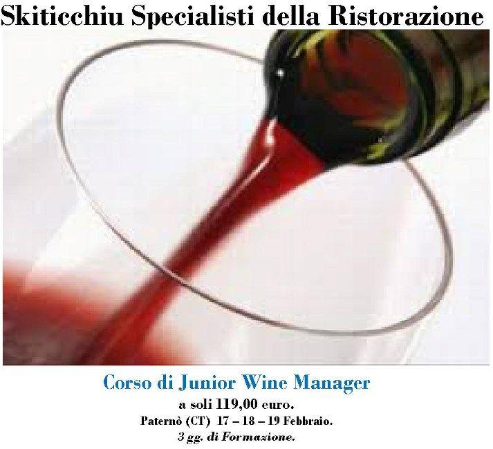 Corso di Wine Manager