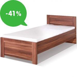 Akcia: Lacné postele jednolôžkové/manželské so zľavou až 41%