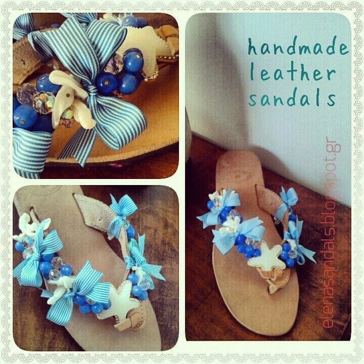 Woman sandals/ χειροποίητα σανδάλια