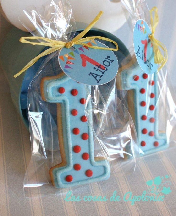 .: Galletas para un primer cumpleaños