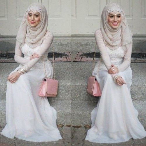 soiree hijab dress