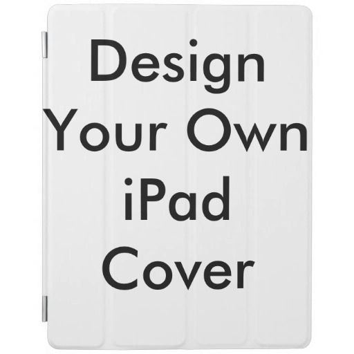 Make your own ipad book cover