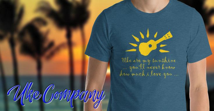Uke are my Sunshine - T-Shirt by Uke Company  Pin-It!