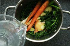 domácí zeleninový vývar