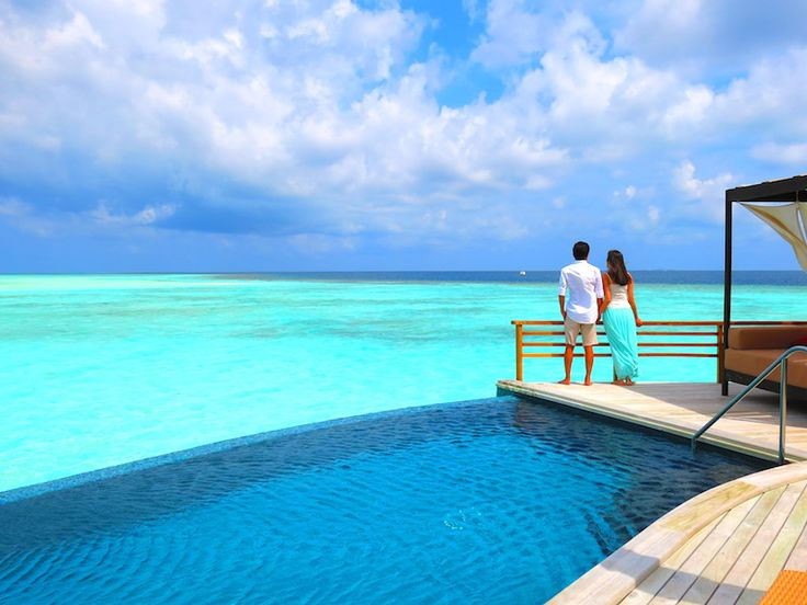 Most Romantic places in World to Celebrate Valentine's Day, MALDIVES