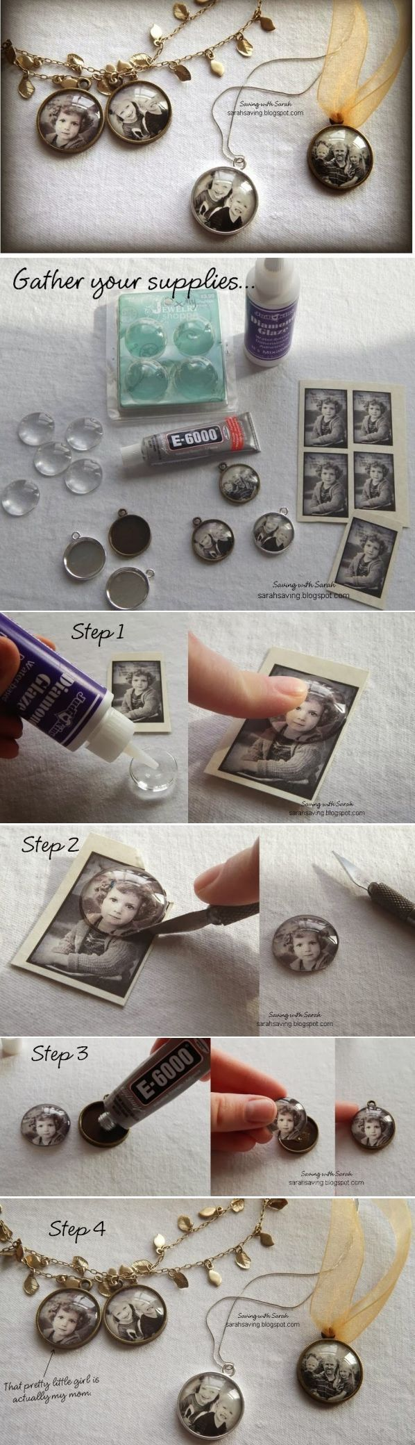 DIY Photo Pendant