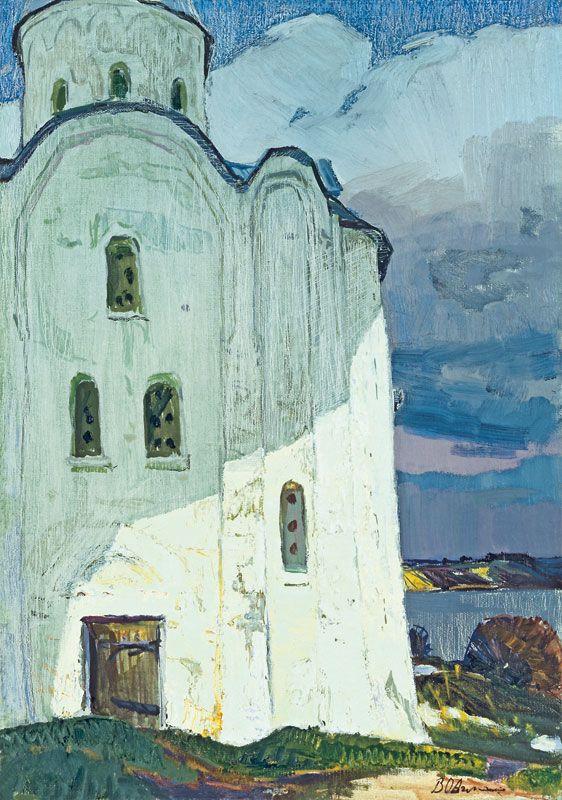 Ovchinnikov-Vladimir-Ivanovich-Saint-George-Cathedral-in-Old-Ladoga-rim35bw.jpg