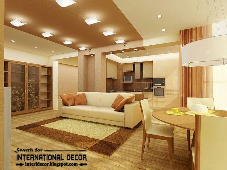 modern suspended ceiling lights for living room ceiling lighting ideas - Home Design Lighting