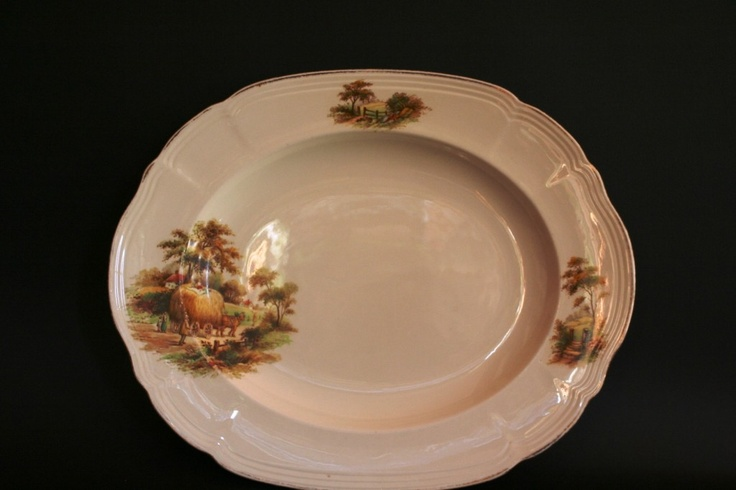 Alfred Meakin The Hay Ride Large Platter R150