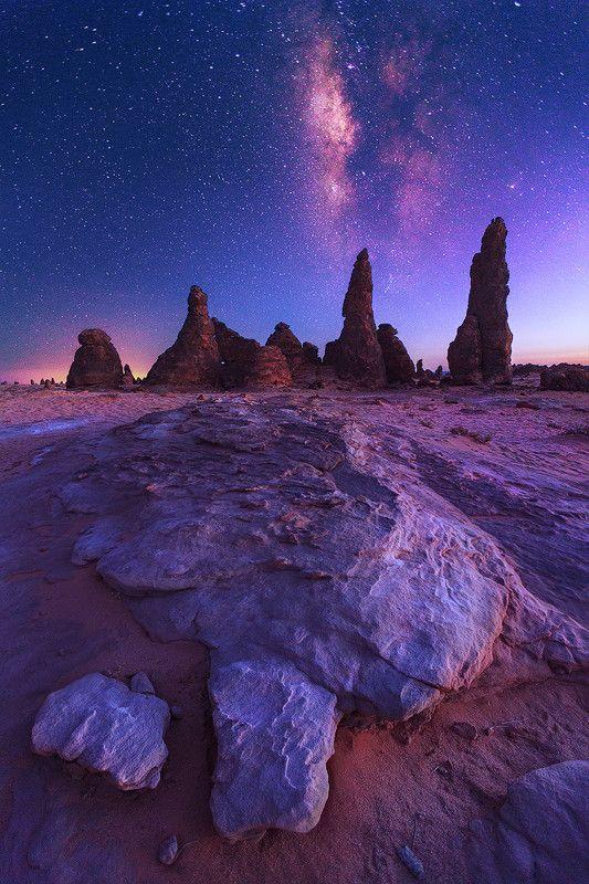 The Milky Way, Saudi Arabia, by Salem Al-Atwi, on 500px.