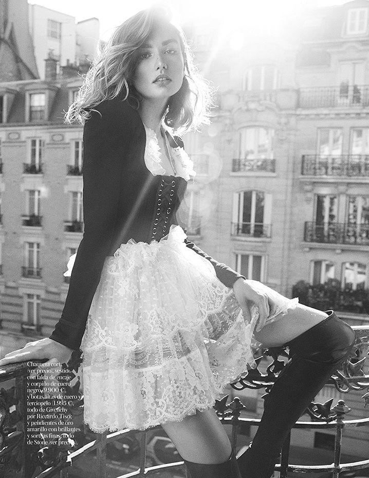 Andreea Diaconu por Benny Horne para Vogue Espanha Fevereiro 2015 [Editorial]