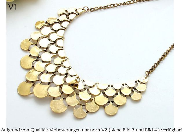 Collier, Halskette // statement necklace by NecklacesTrends via DaWanda.com