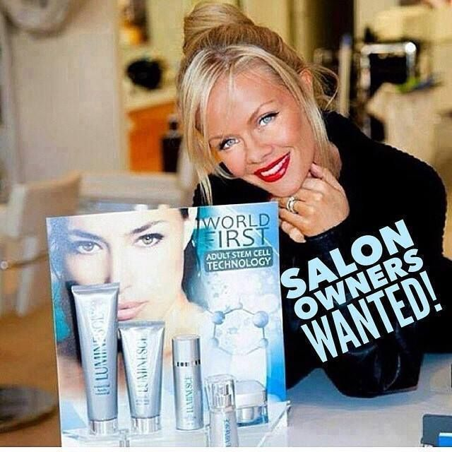 Looking for Salon Owners who want to boost their business and services to their customers with Jeunesse Global exceptional products: Instantly Ageless and the luminesce line!!!  http://bestantiagingcream.jeunesseglobal.com