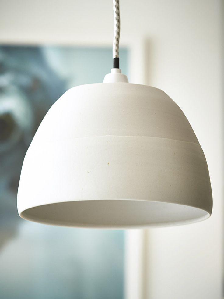 Cream Ceramic Light Shade