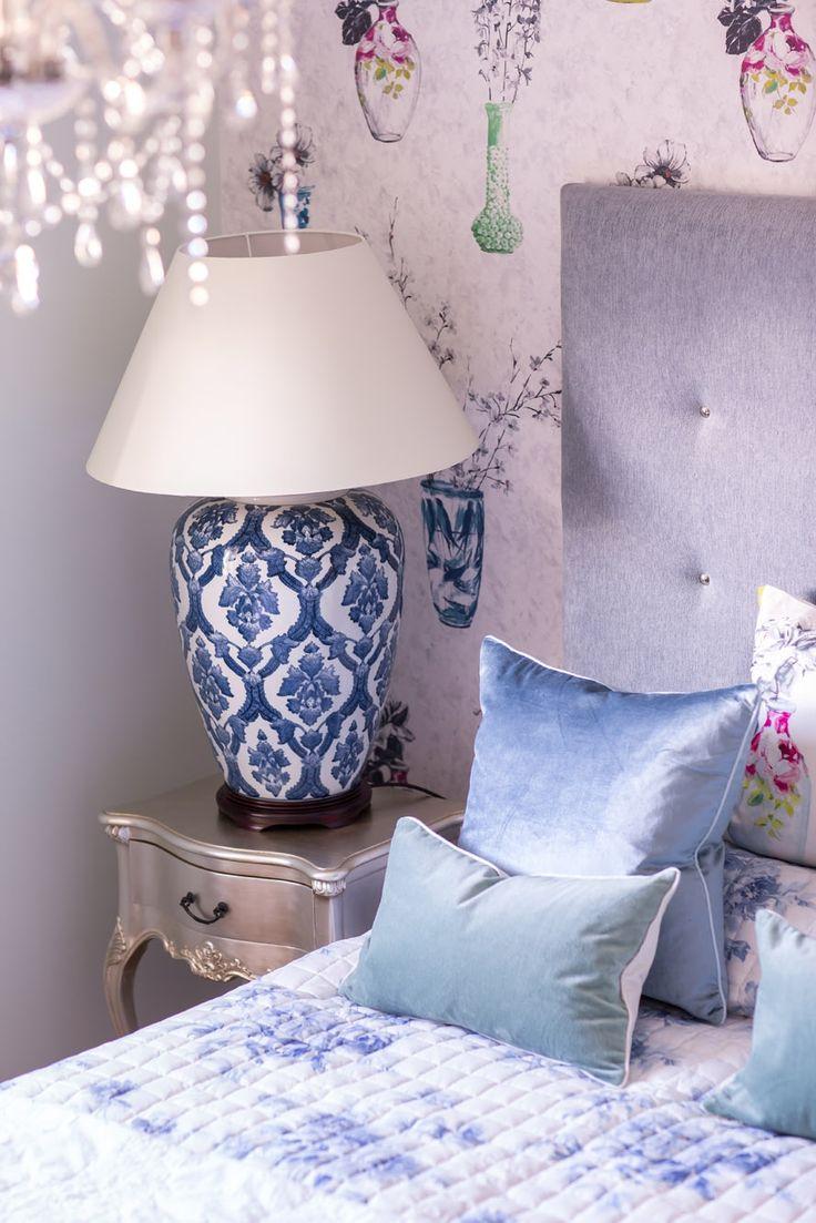 A stylish bedroom at Seven Wells