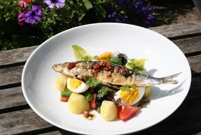 """Grilled sardine """"Niçoise"""""""