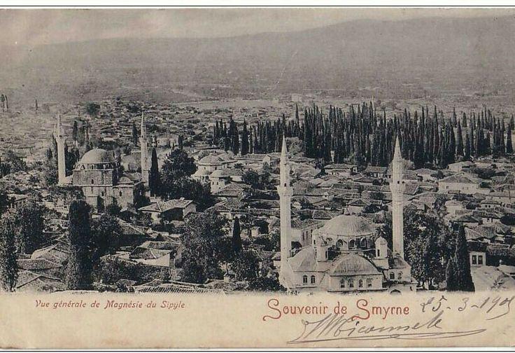 Souvenir de Smyrna-Vue générale de Magnésie du Sipyle