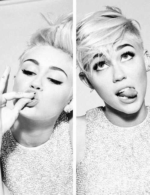 Miley Cyrus. She's crazy, but the girl is gorgeous