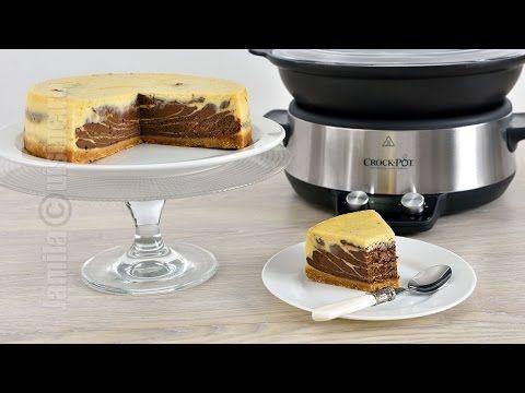 Cum sa faci cel mai bun cheescake la Crock-Pot, dupa o reteta de la Jamila Cuisine