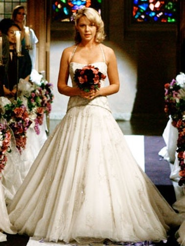 katherine heigl's wedding dress