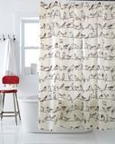 Canadian Tire Birds on a Wire Shower Curtain  $14.99   ( outside design )