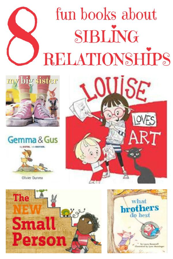 244 best reading images on pinterest baby books kid books and 8 fun picture books about sibling relationships fandeluxe