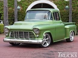 1956 Chevrolet Truck - greens get better and better