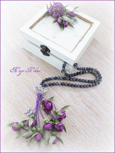 Florit taşlı beyaz kutulu tesbih | Flickr - Photo Sharing!