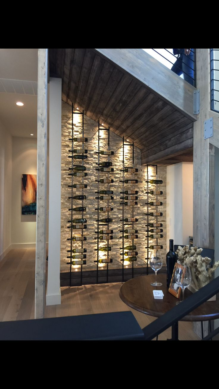 Unique wine rack wine cellar pinterest unique wine for Wine cellar pinterest