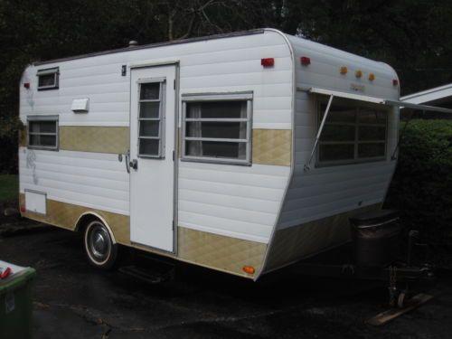 Vintage Camper Trailer 1970 Roadcruiser Growing Up