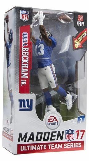 Odell Beckham Jr. (New York Giants) EA Sports Madden NFL 17 Ultimate Team Series 1 McFarlane