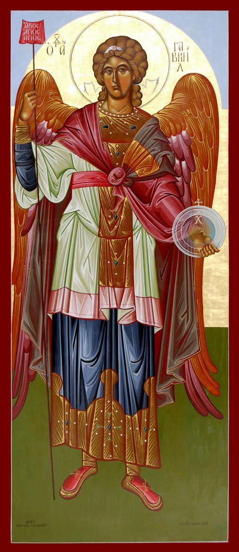 Photograph Αρχάγγελος Γαβριήλ , Archangel Gabriel, Архангел Гавриил by Michael Hadjimichael on 500px byzantine icon