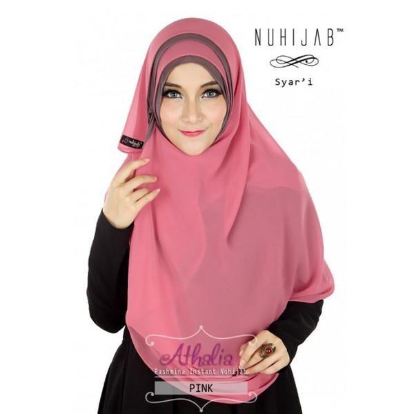 Nuhijab Pin Athalia - Pink